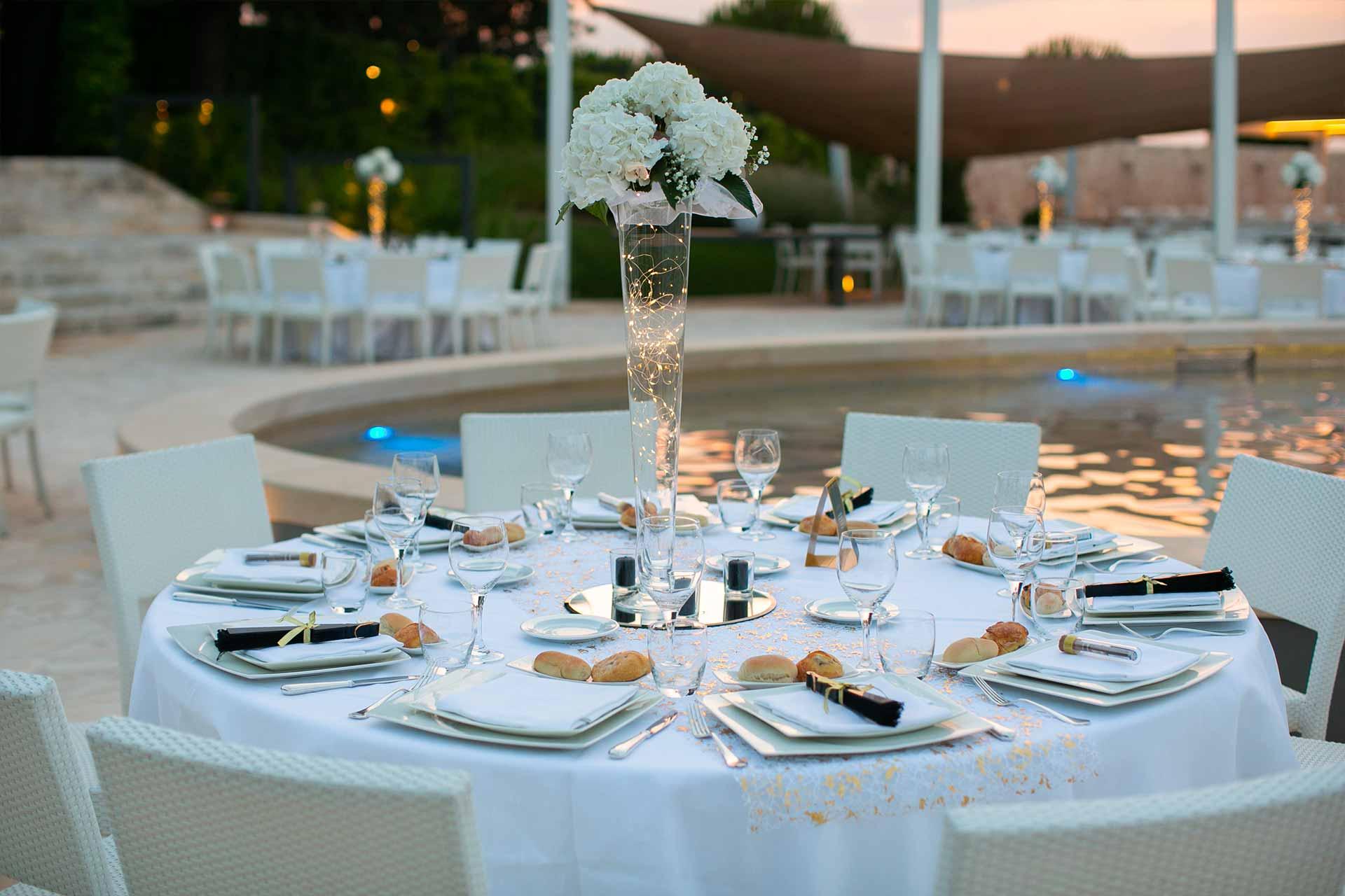 Fiori e allestimenti floreali per il matrimonio
